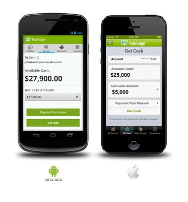 Kabbage this year began allowing borrowers to apply entirely through a mobile app. This asks applicants to use their phone to take a picture of a government ID, such as a driver's license.