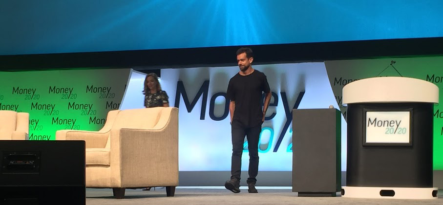Jack Dorsey at the 2016 Money2020 Conference in Las Vegas